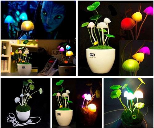 Ночник лампа гриб аватар